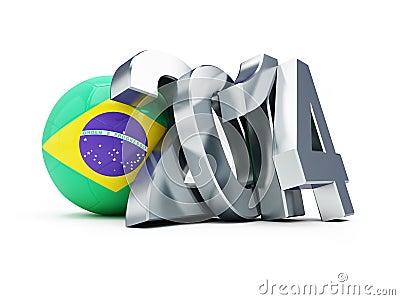 Brazilian football 2014