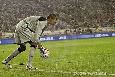 Brazilian goalkeeper Dida Editorial Stock Photo