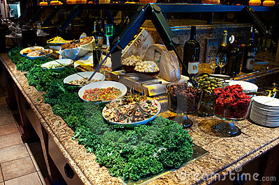 Brazilian Gourmet Salad Bar