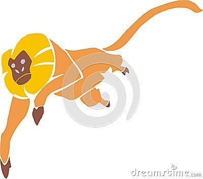 Brazilian lion-monkey