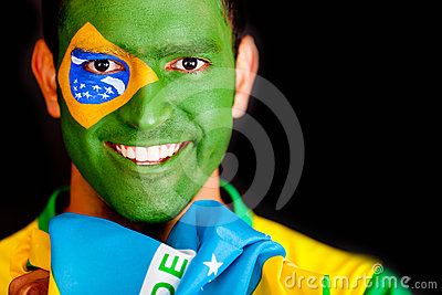 Brazilian man smiling