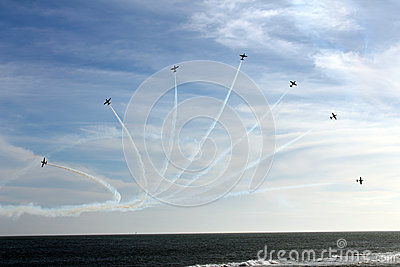 Brazilian Smoke Squadron Editorial Image