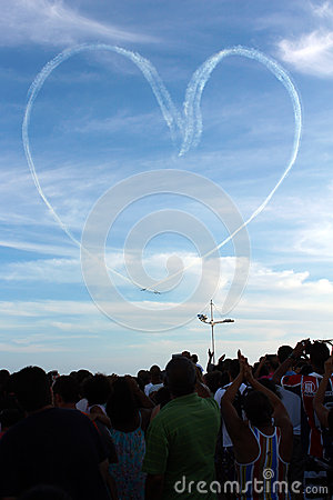 Brazilian Smoke Squadron Editorial Photo