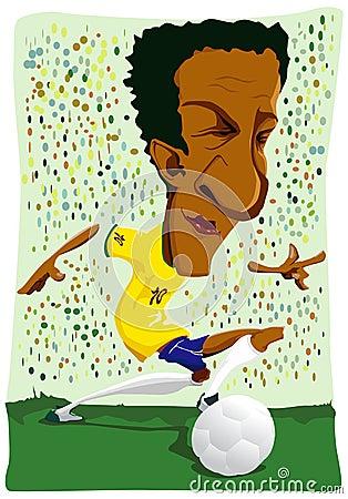 Brazilian soccer player.