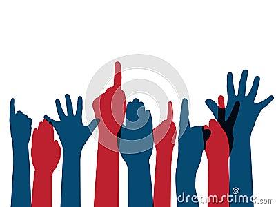 Brazos de votación