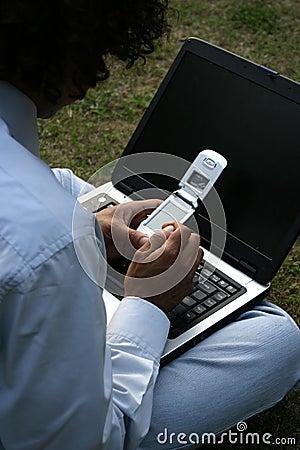 Bärbar datormobil
