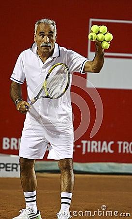 BRD Nastase Tiriac Trophy Charity Match Editorial Stock Photo
