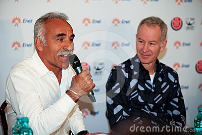BRD Nastase Tiriac Trophy press conference Editorial Photo