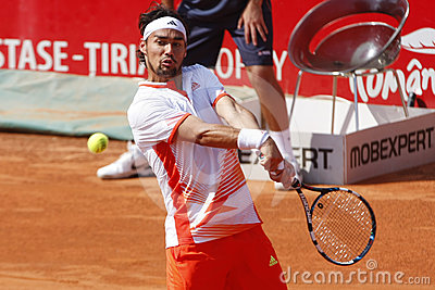 BRD Open 2012 Final : Gilles Simon- Fabio Fognini Editorial Photo
