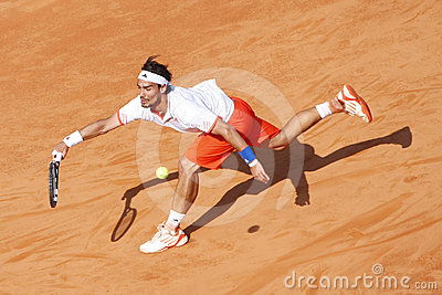 BRD Open 2012 Final : Gilles Simon- Fabio Fognini Editorial Photography