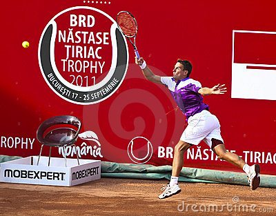BRD Open : Joao SOUZA (BRA) vs Tommy ROBREDO (ESP) Editorial Photo