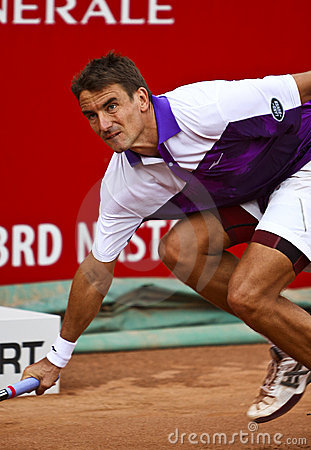 BRD Open : Joao SOUZA (BRA) vs Tommy ROBREDO (ESP) Editorial Photography