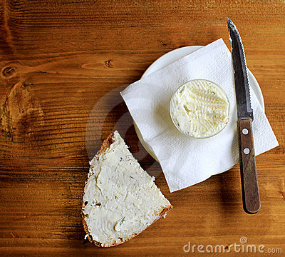 Free Bread And Butter Royalty Free Stock Photo - 19146285