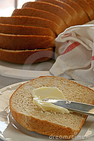 Free Bread And Butter Royalty Free Stock Photography - 20792007