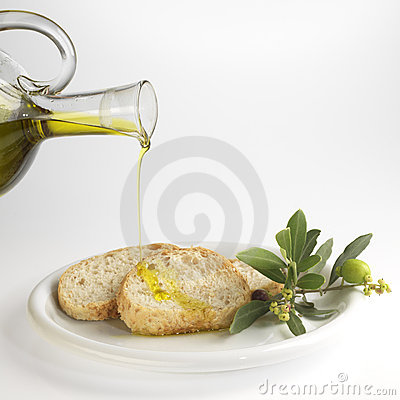 Free Bread And Olive Oil Royalty Free Stock Photos - 3769298