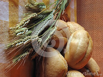 Free Bread And Wheat Stock Image - 1022371