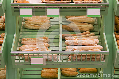 Bread in bakery