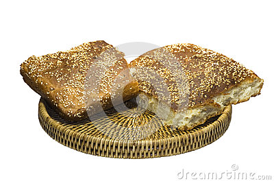 Bread in a basket