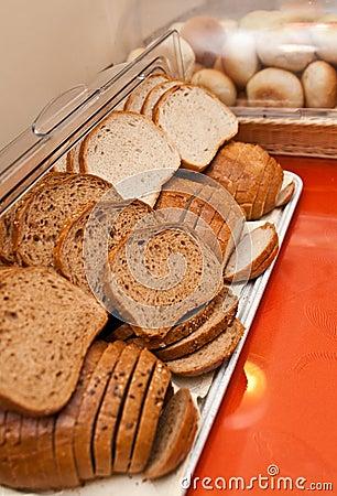 Bread in buffet