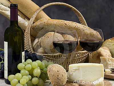 Bread Cheese and Wine 10