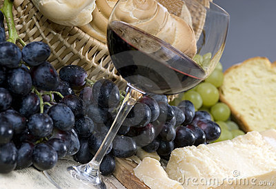 Bread Cheese and Wine 3