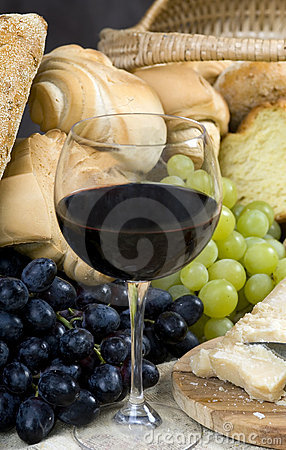 Bread Cheese and Wine 8