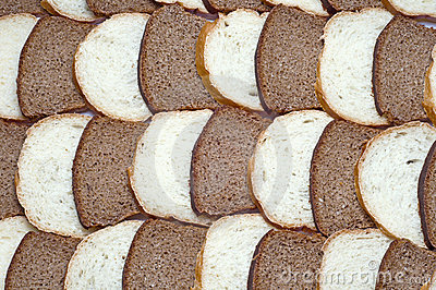 Bread collage