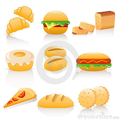 Free Bread Collection Royalty Free Stock Image - 13034106