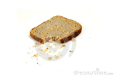 Bread with crumbs (1)