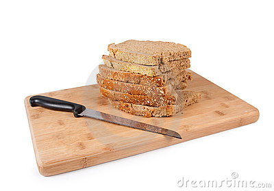 Bread and cutting wood