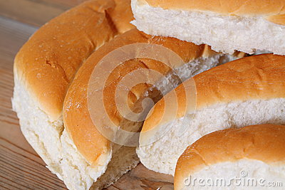 Bread finger rolls C
