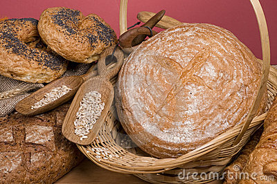Bread fresh food
