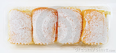 Bread with icing