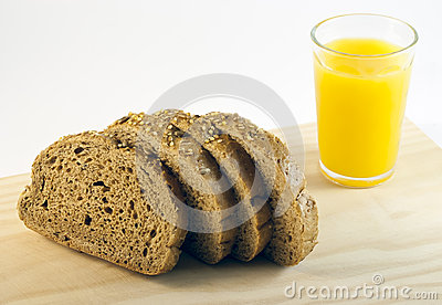 Bread and juice