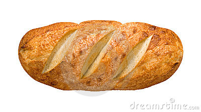 Bread Loaf (with clipping path)