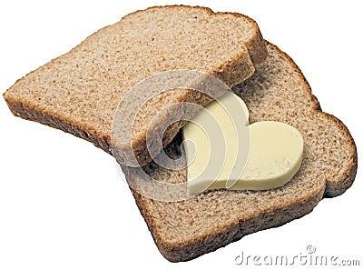 Bread loves butter