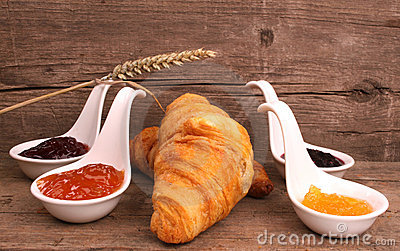 Bread and marmalade