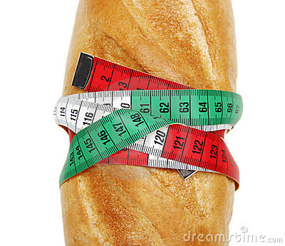 Bread and measure tape