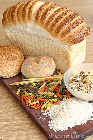 Free Bread Pasta Cereal Rice Stock Photos - 89463