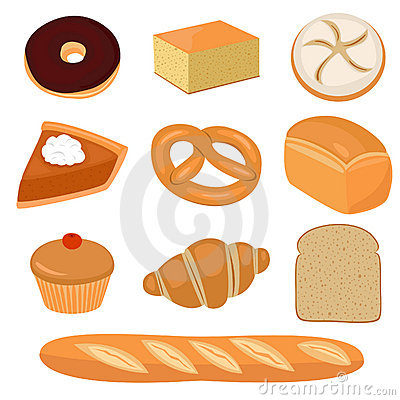 Bread and pastry clip-art