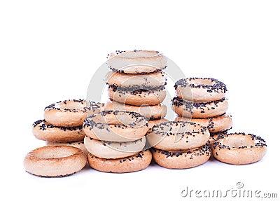 Bread ring stacks