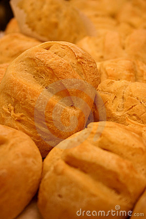 Free Bread Rolls (freshly Baked) Royalty Free Stock Photography - 66117