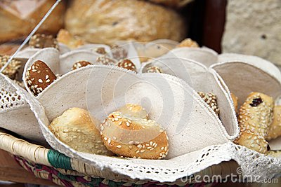 Bread rolls Spain