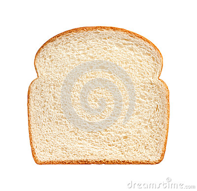 Free Bread Slice Isolated Stock Images - 45918224