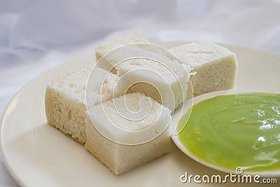 Bread steamed custard