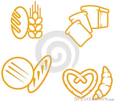 Free Bread Symbols Stock Images - 14359074