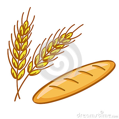 Bread And Wheat Stock Images - Image: 25774044