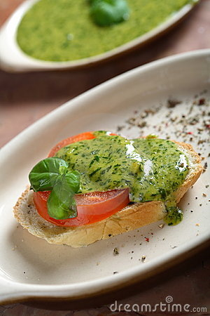 Free Bread With Tasty Dressing Royalty Free Stock Photo - 2505865