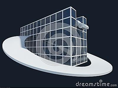 Breadboard model of the house2
