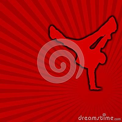 Free Break Dance [01] Royalty Free Stock Image - 4858576